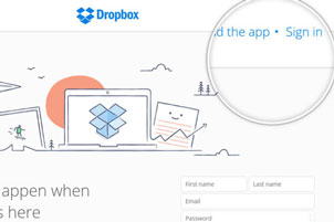 create-dropbox-account