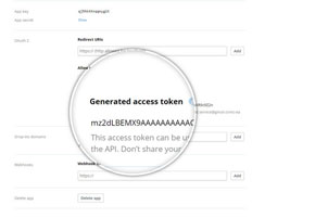 Generate Access Token addon